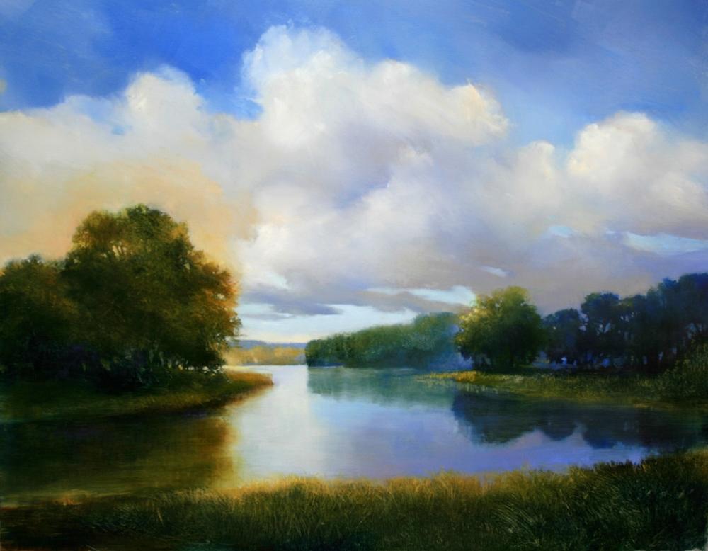 "Janine Robertson's ""Evening Skies of Summer"""