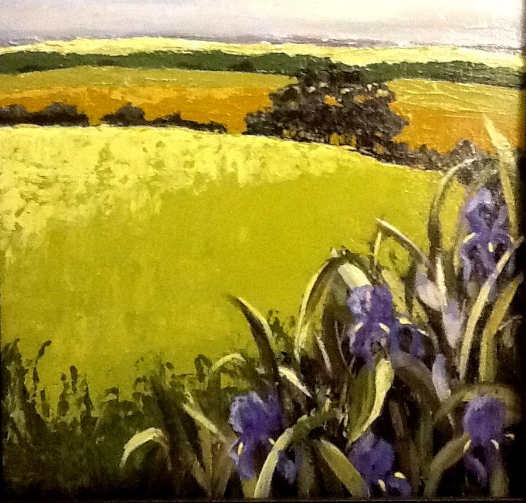 Iris in the Hills