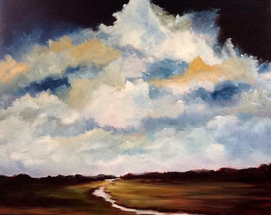 """Pam Carlson's """"River Run"""""""