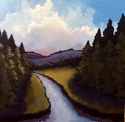 """Pam Carlson's """"Beyond the River Bend"""""""