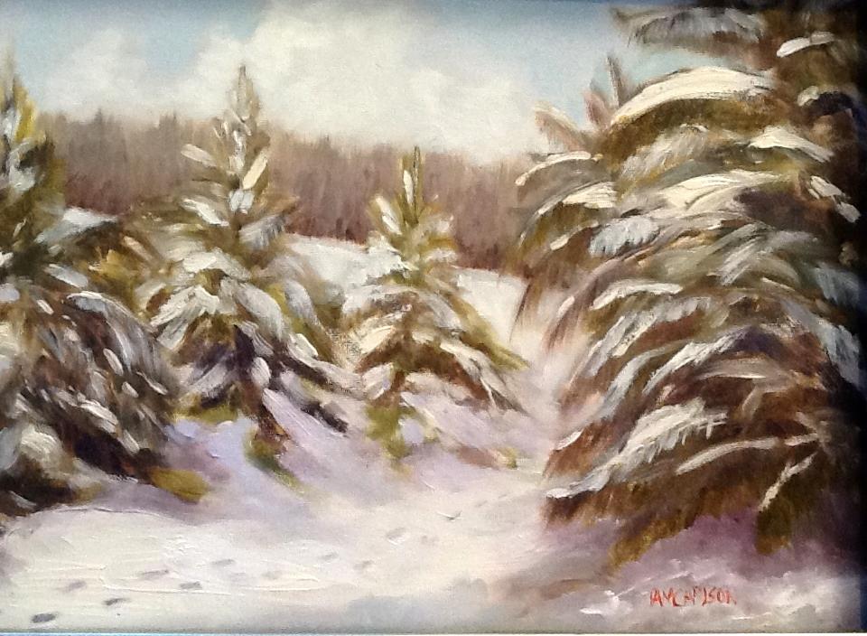 "Pam Carlson's ""The Trail"""