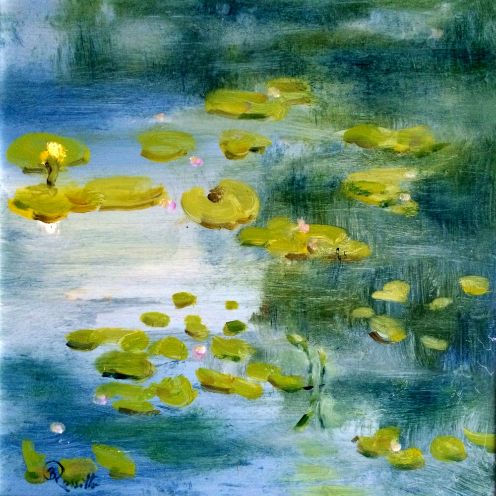 "B. Rossitto's ""Lilly Pond Reflections"""