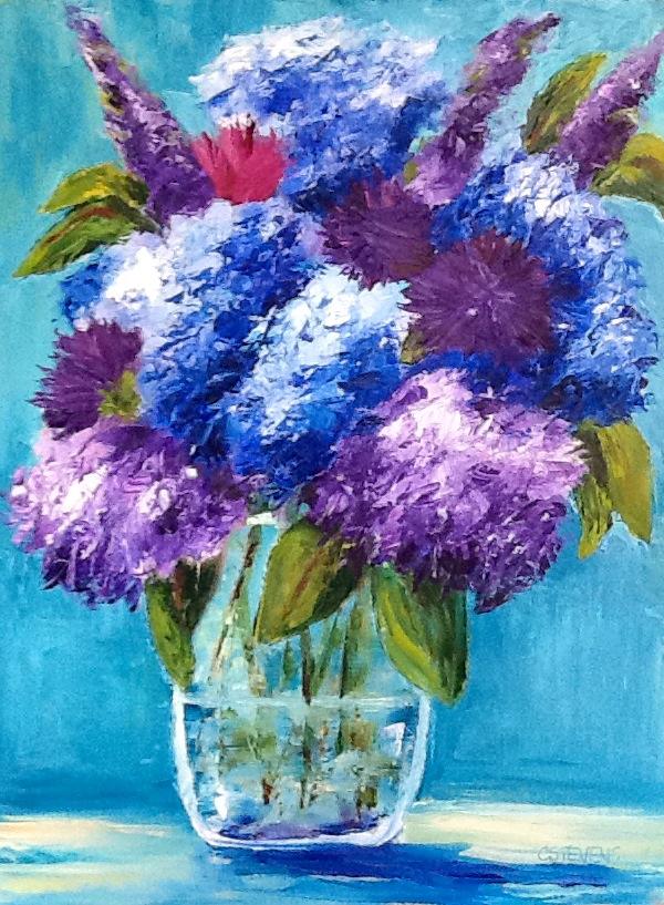 """Cindy Stevens's """"Favorite Colors Bouquet"""""""
