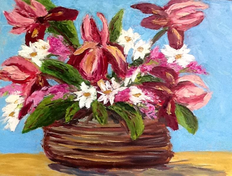 "Cindy Steven's ""Iris Basket"""