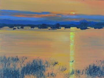 "Linda DeStefanis's ""Mandarin Sunset"""
