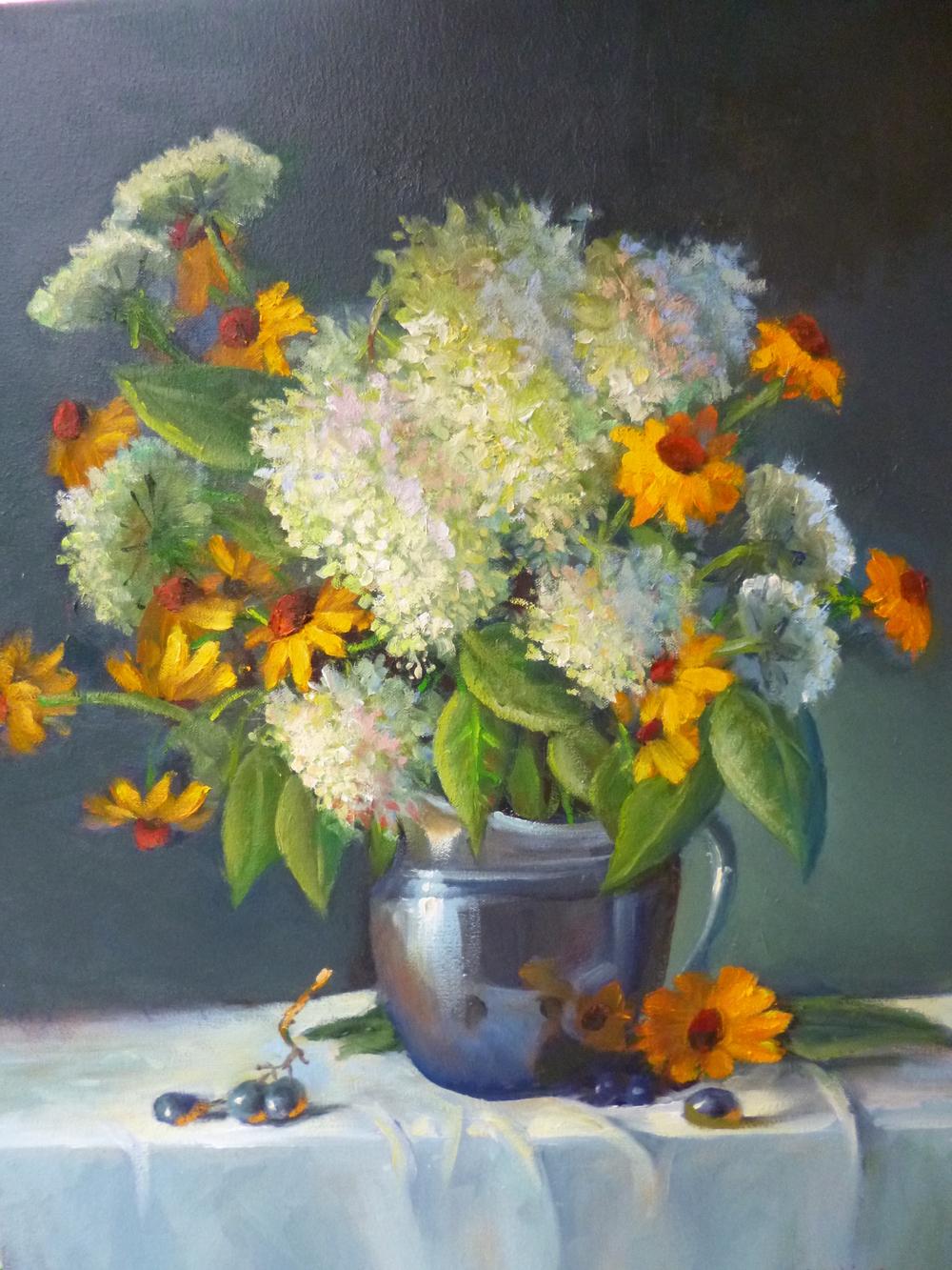 "Linda Lilling's ""Hydrangeas"""