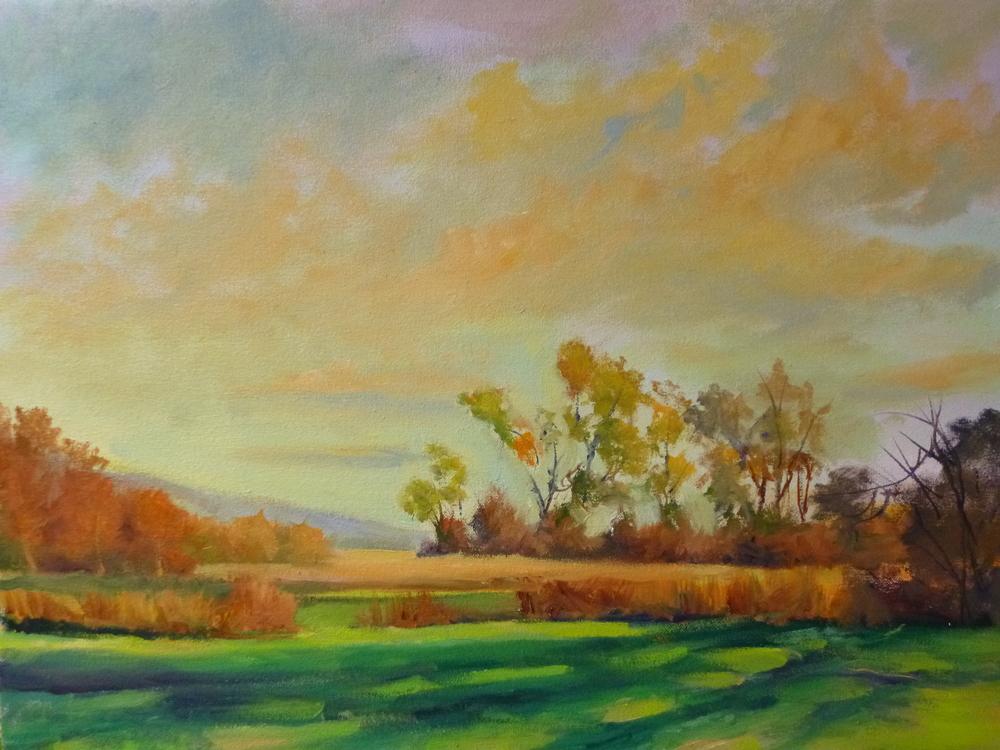 "Linda Lilling's ""Autumn Sky'"