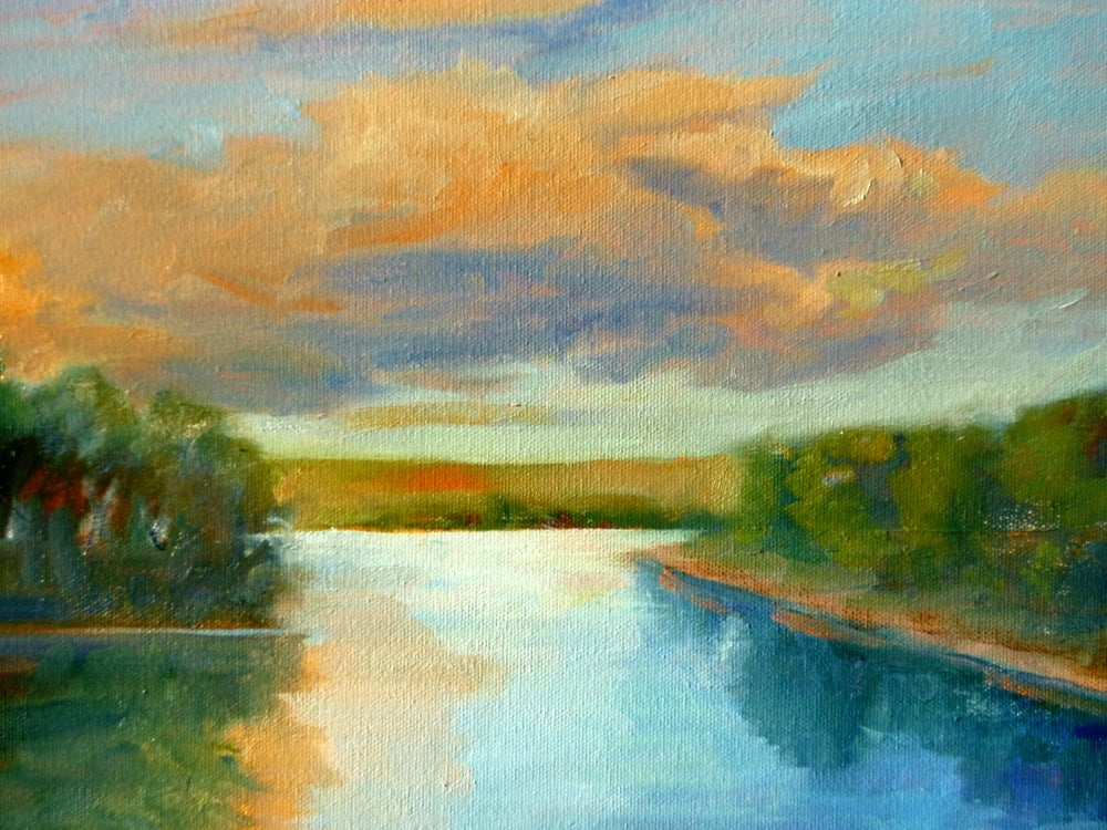 "Linda Lilling ""Late Afternoon"" (detail)"