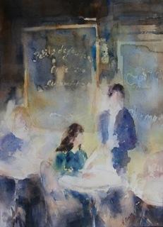 Au Cafe de L'Artiste
