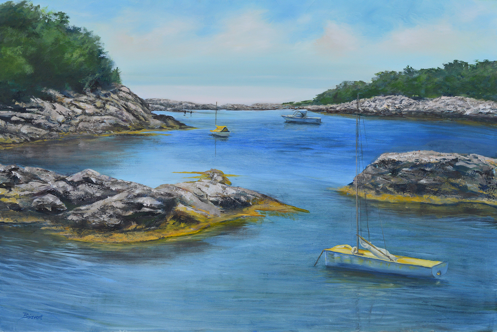 """Linda Boisvert-DeStefanis's """"Hidden Cove"""""""