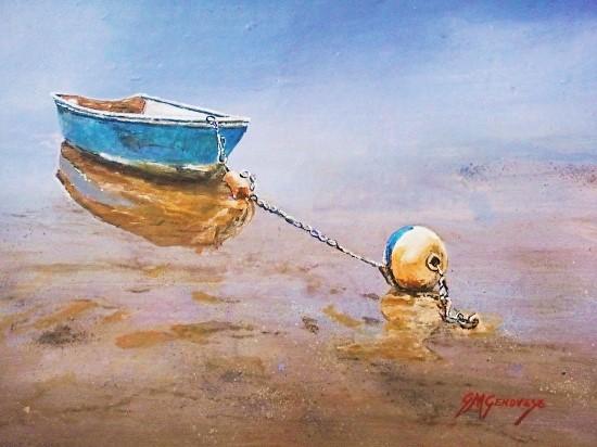 """Gigi Genovese's """"Blue Buoy"""""""