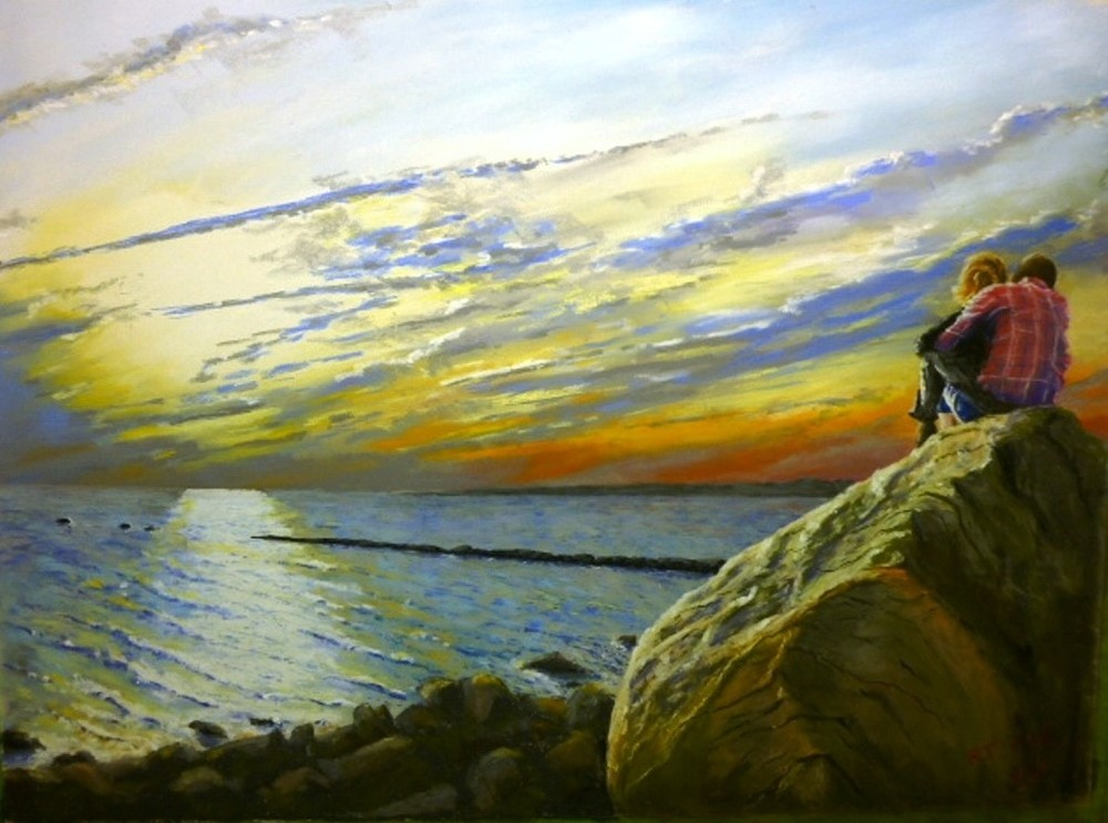 "Bob Dietz's ""Together at Meigs Point"""
