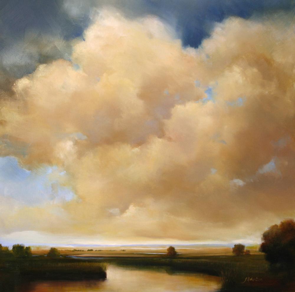 "Janine Robertson's ""Luminous Evening"""