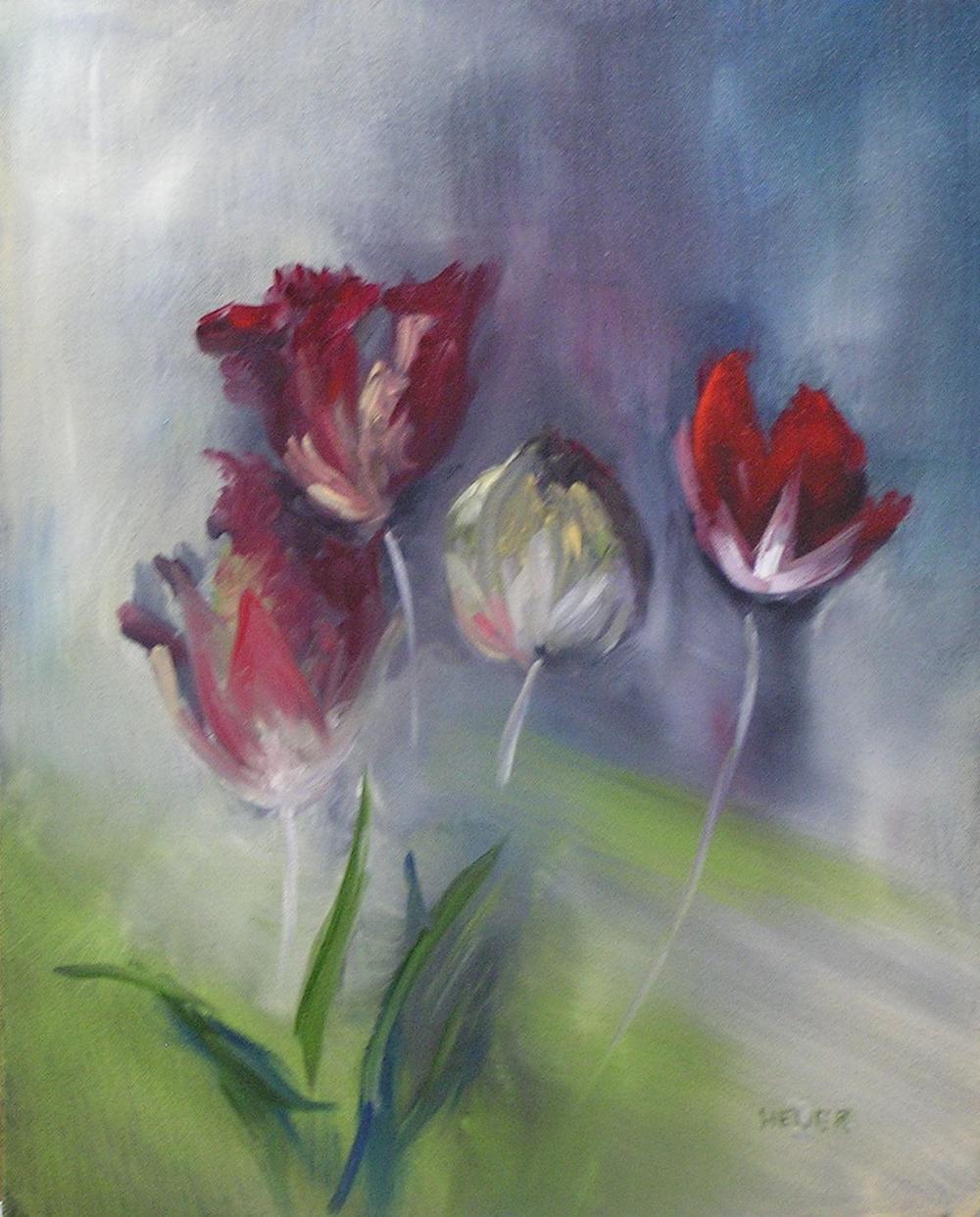 "Lee Bardenheur's ""Five Tulips"""