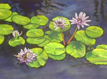 """Linda DeStefanis's """"Belles of the Pond"""""""