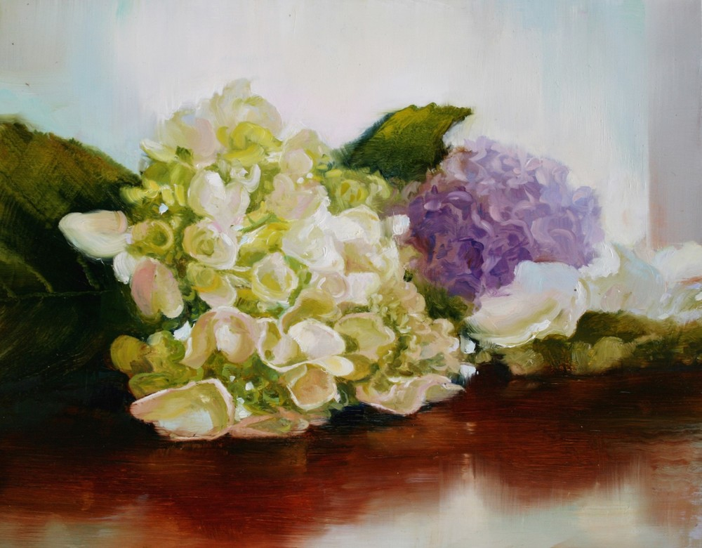 Hydrangea with Lilac