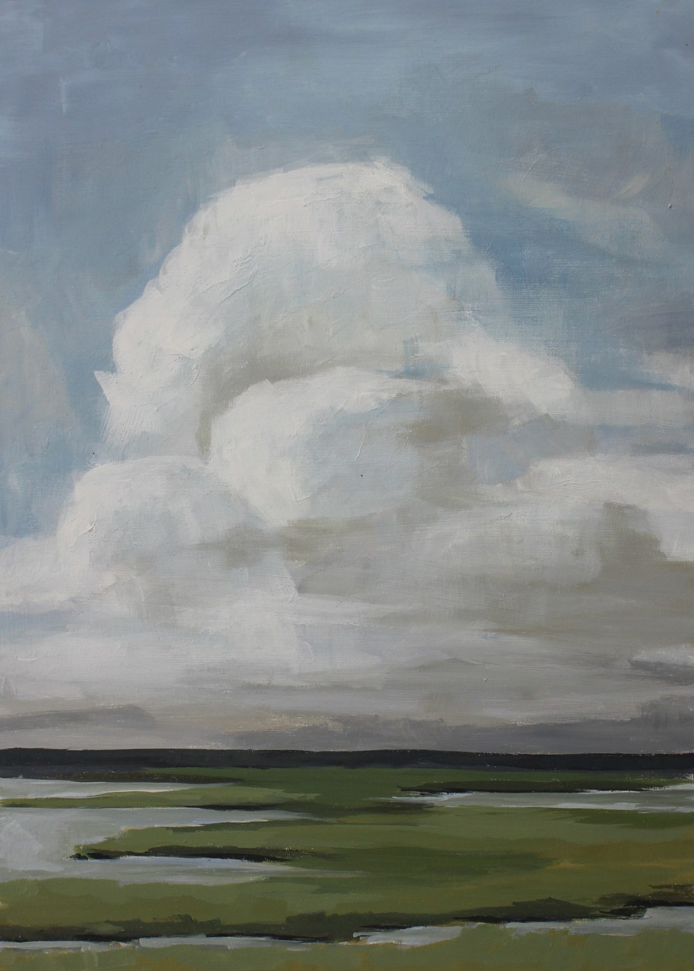 Clouds Over Marsh