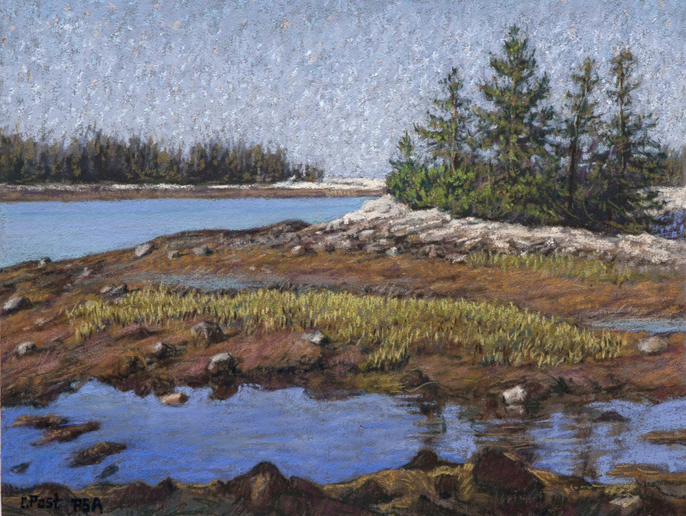 View Along Schoodic Point, ME