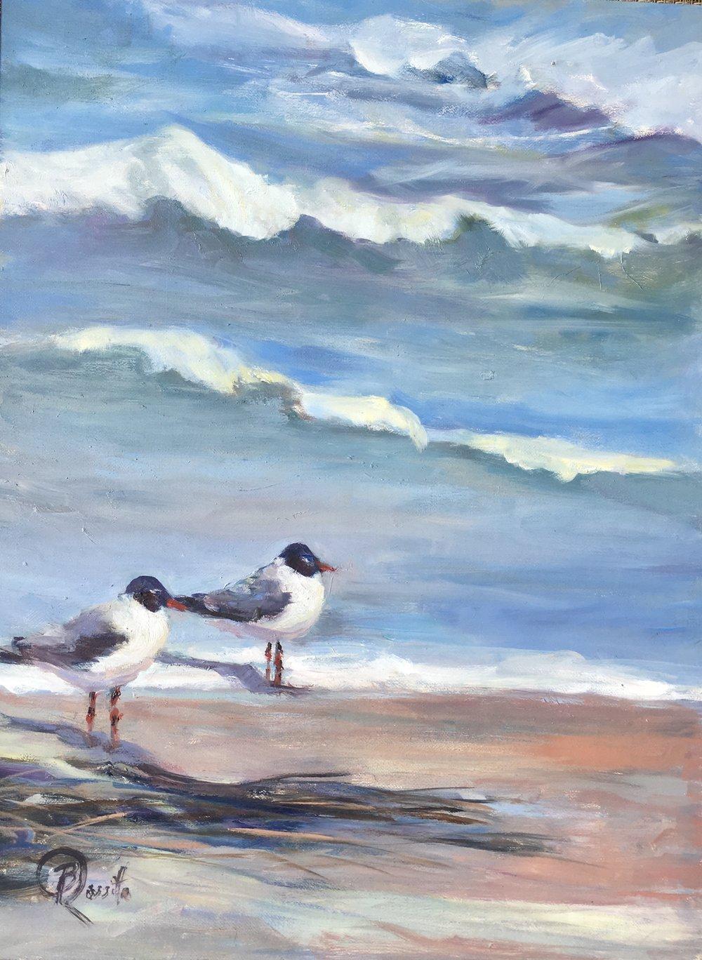 "Barbara Rossito's ""Seaside Terns"""