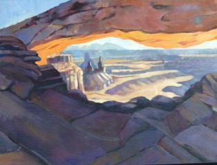 "Cathy Ciardiello's ""Canyonlands Arch"""