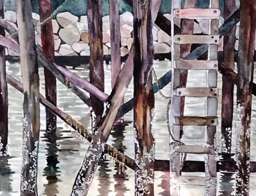 """Claudia Van Nes's """"Under the Dock"""""""