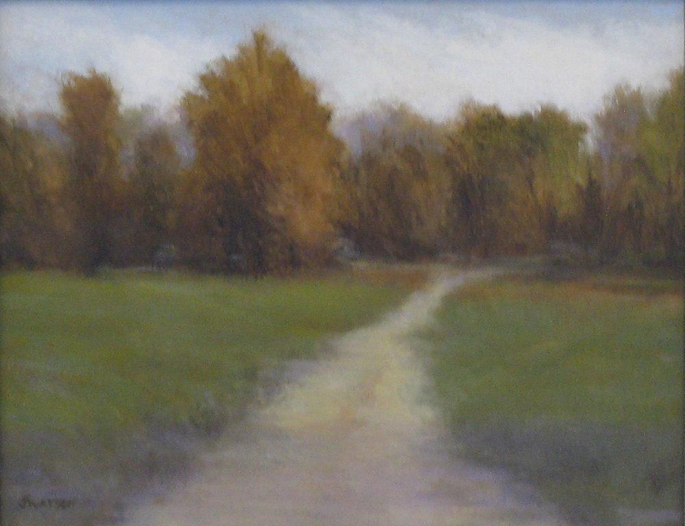 """Jean Watson's """"Autumn Pond"""""""