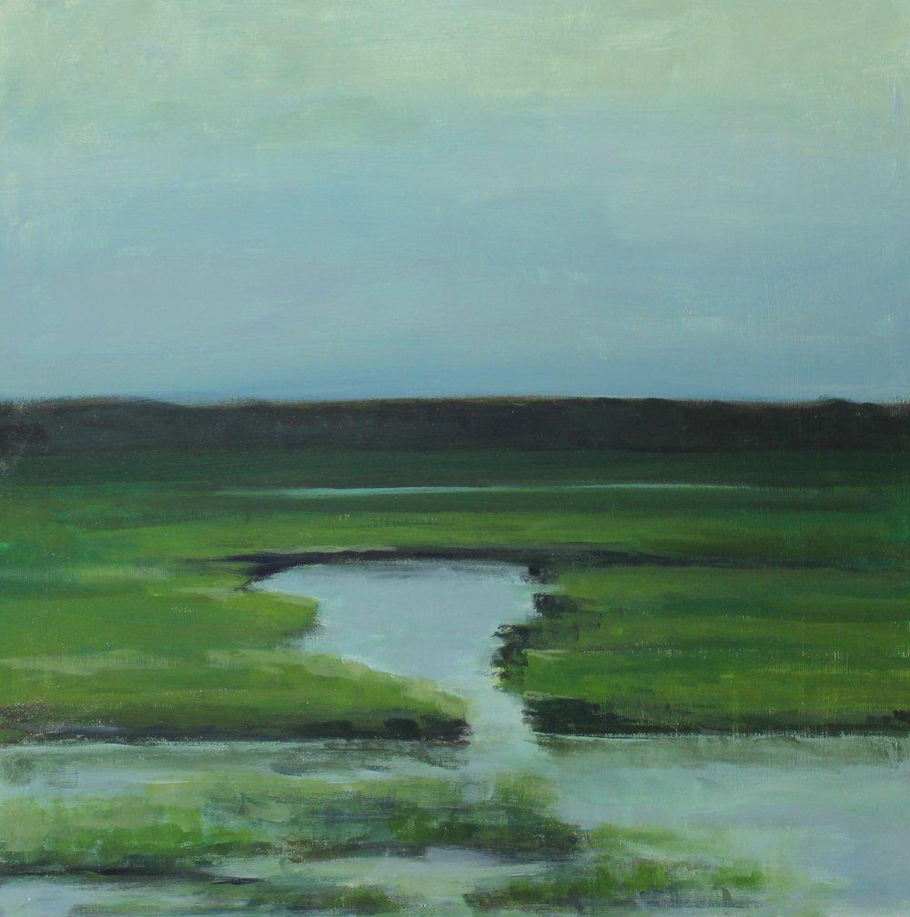 """Kim Petersen's """"Azure Evening"""""""