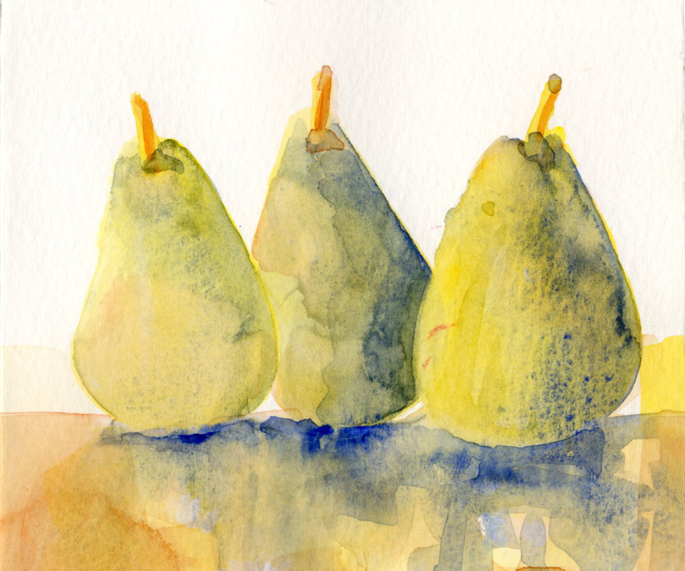"Lynn Malec's ""Three Pears"""