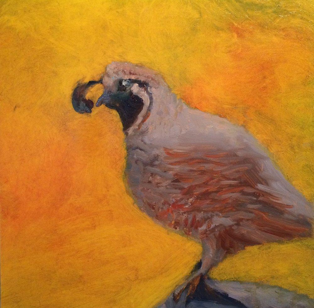 """Barbara Rossitto's """"Partridge I"""""""