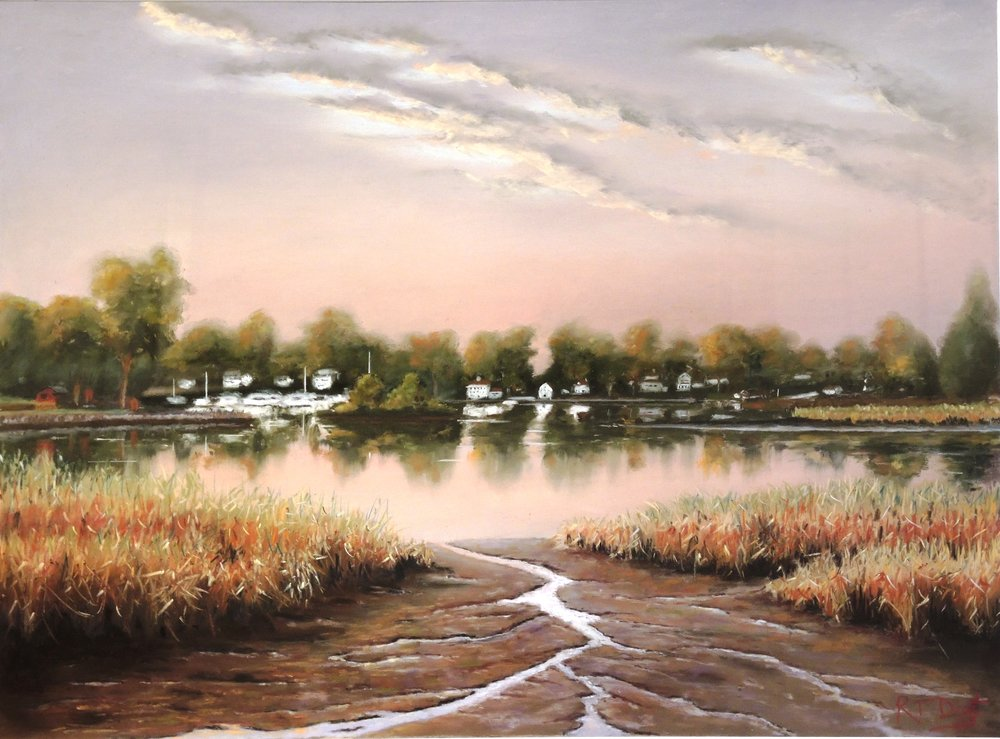 "Bob Dietz's ""Low Tide in Essex"""