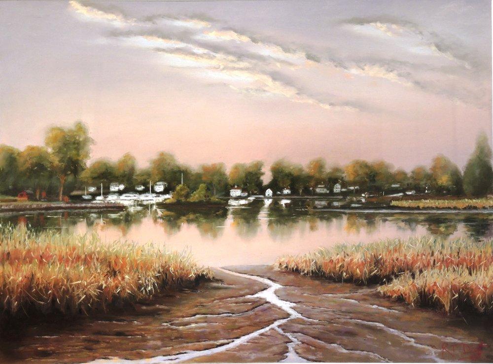 """Bob Dietz's """"Low Tide in Essex"""""""