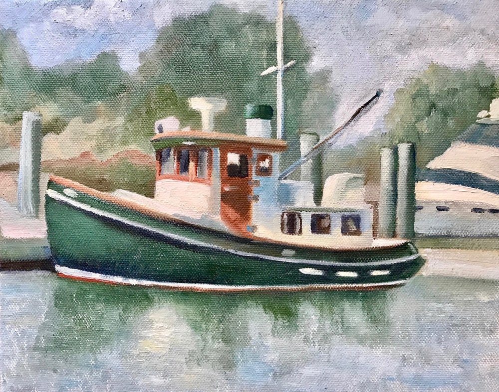 "Cathy Ciardiello's ""Little Tug"""