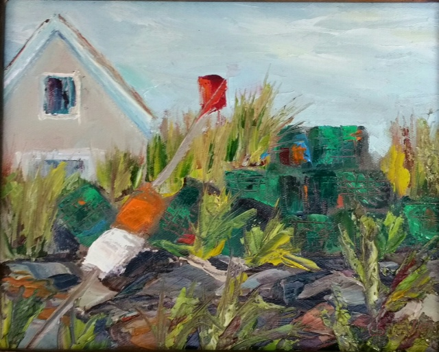 "Cindy Stevens's ""Lobster Pots"""