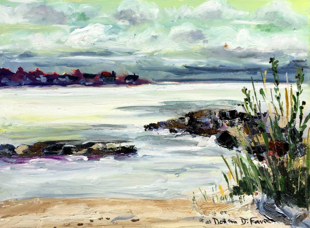 """Donna Favreau's """"Stormy Skies"""""""