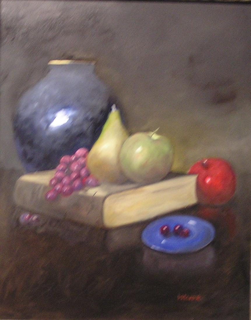 """Lee Bardenheur's """"Blue Saucer"""""""
