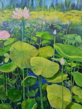 """Linda DeStefanis's """"Lotus Rising"""""""