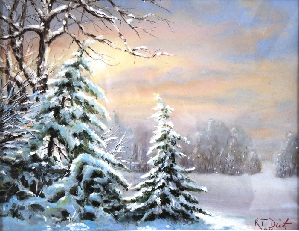 "Bob Dietz's ""Cold Winter Morning"""