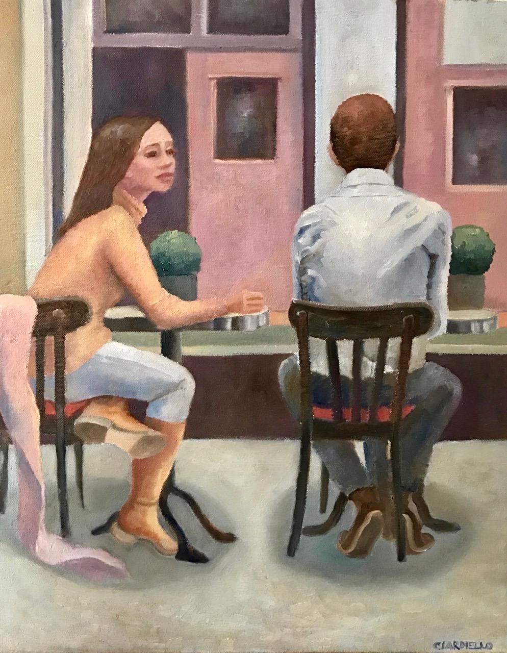 """Cathy Ciardiello's """"Window Seats, Latin Quarter"""""""