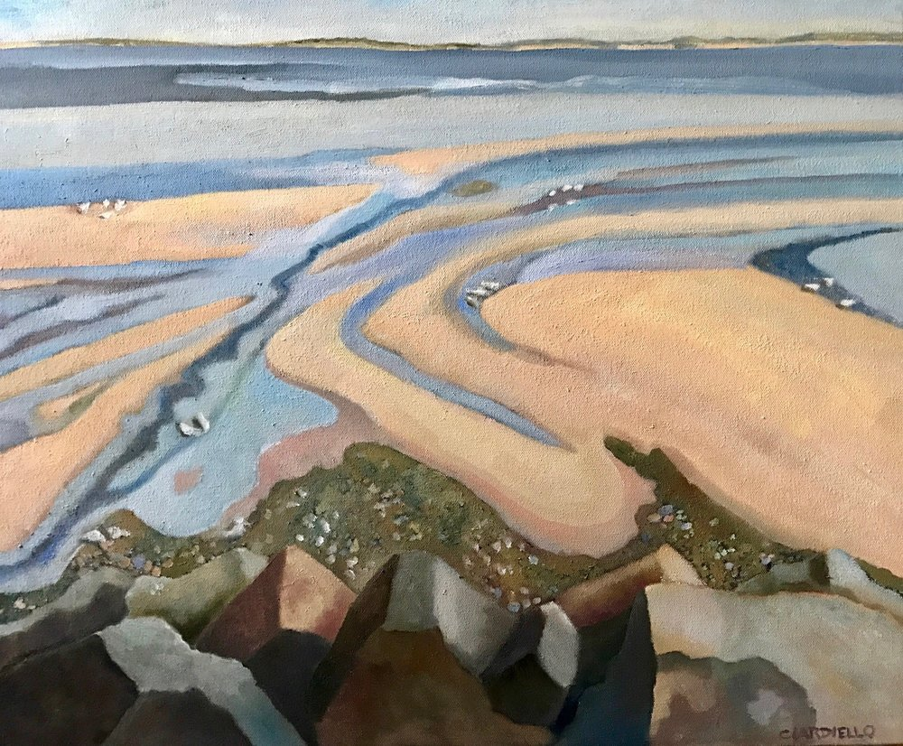 "Cathy Ciardiello's ""Low Tide, P-Town"""