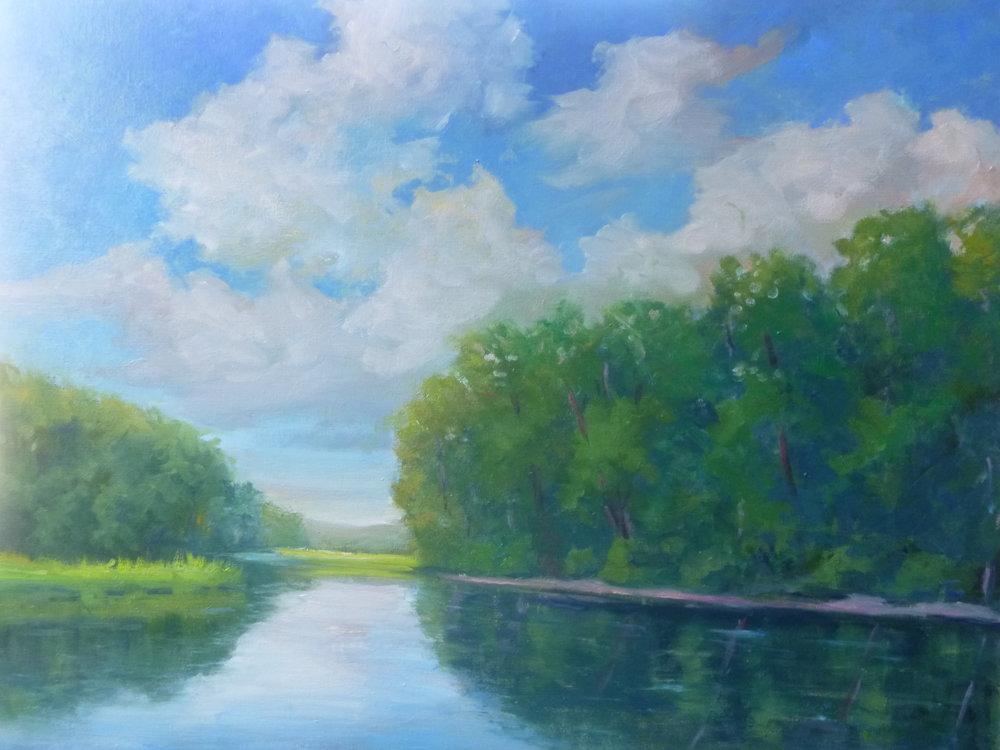 "Linda Lilling's ""Morning on Chester Creek"""