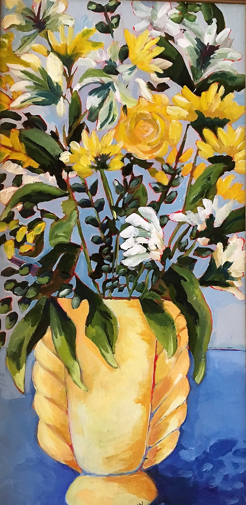 In a Yellow Vase