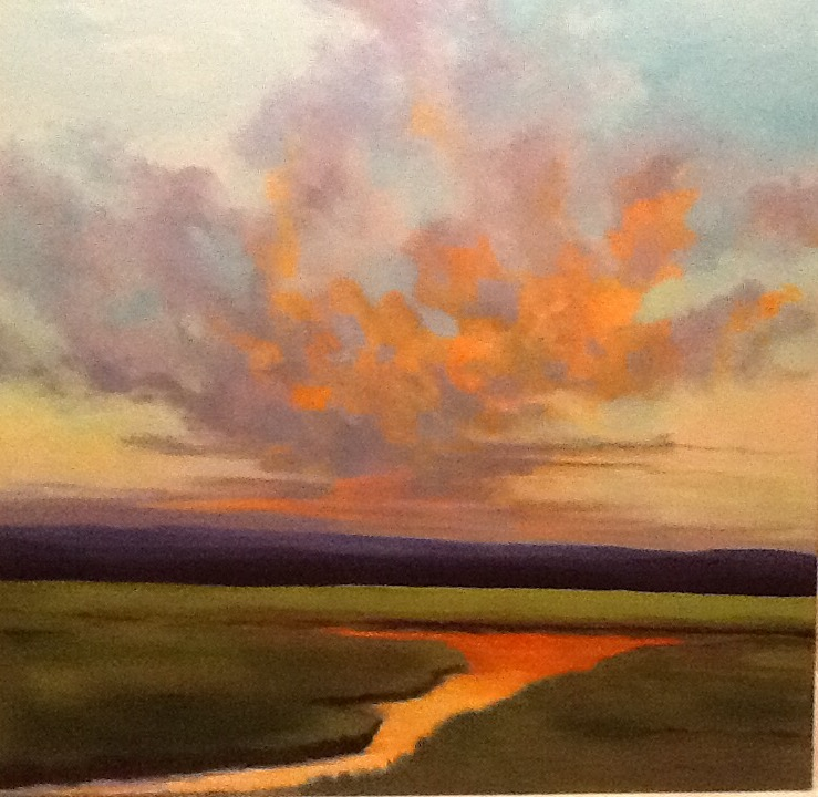 "Pam Carlson's ""Feeling the Warmth"""