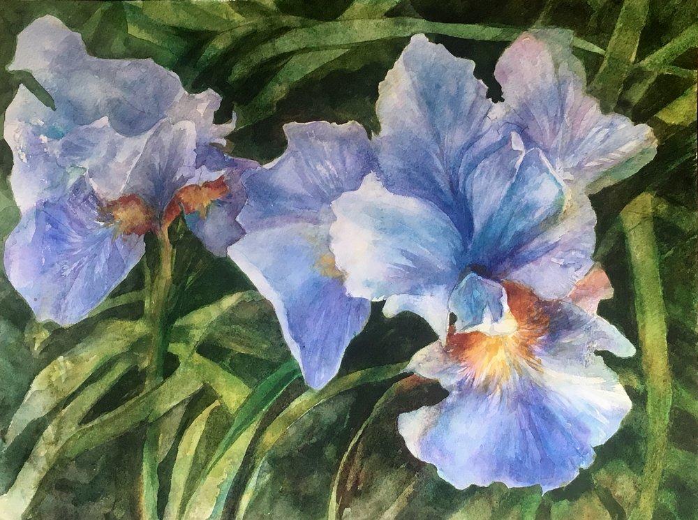 "Barbara Rossitto's ""Blue Duet"""