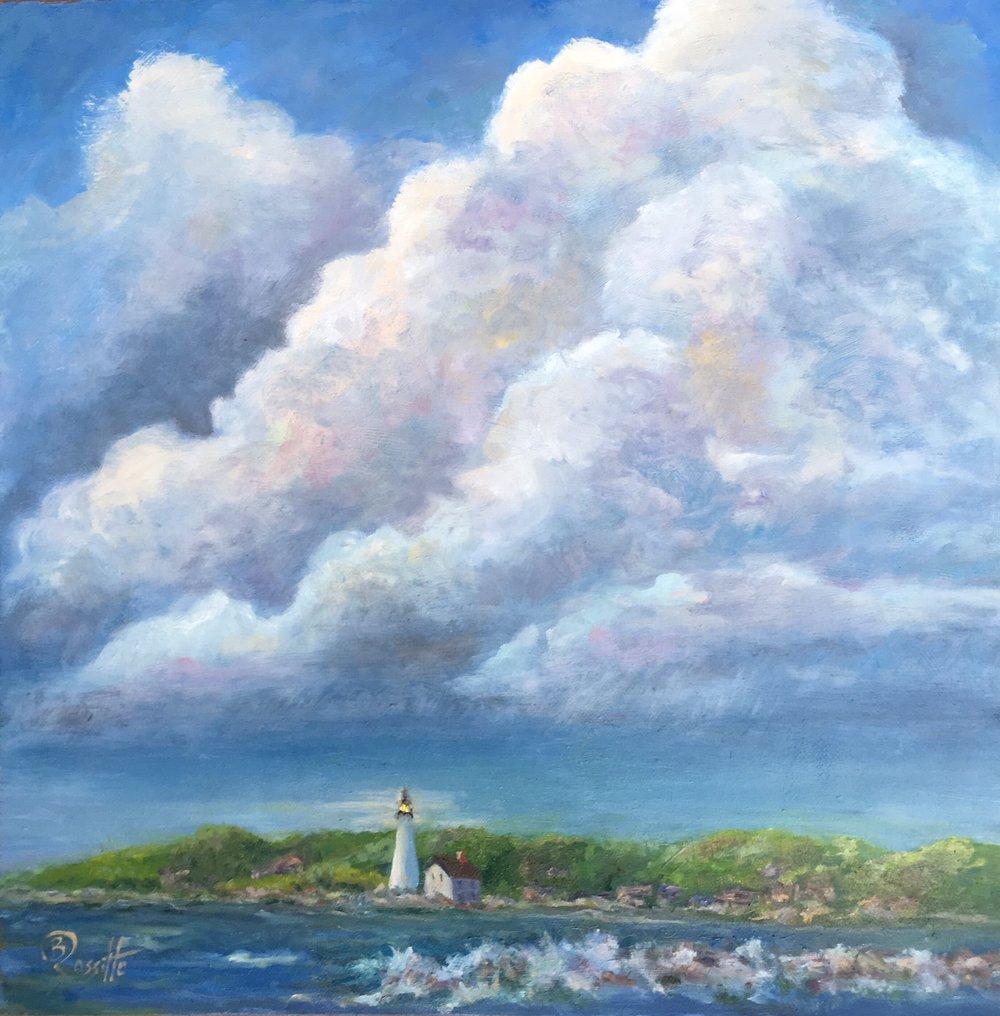 """Barbara Rossitto's """"Thunderhead Over New London"""""""