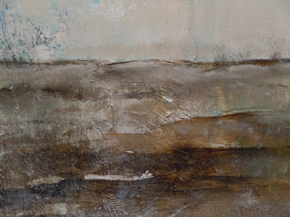 "Bernadette Bellizzi's ""Earth Layers"""