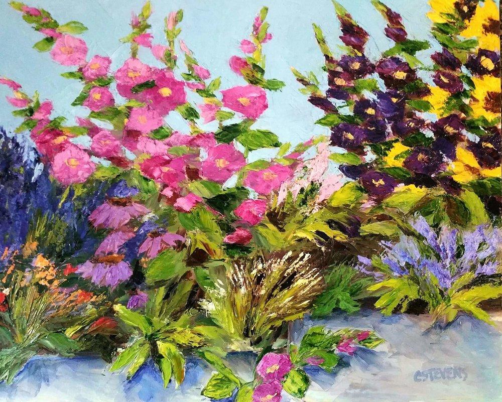 "Cindy Steven's ""Sarah's Garden"""
