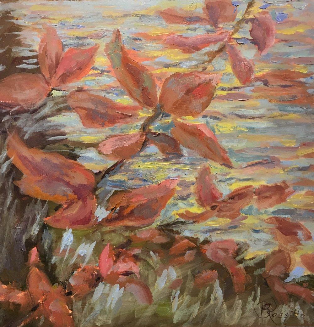 "Barbara Rossitto's ""Fall Foliage Abstract"""