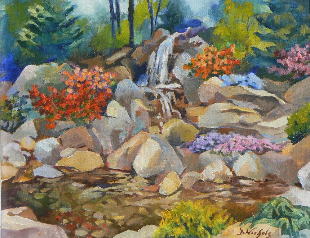 "Dan Nichols ""Spring Rock Garden"""