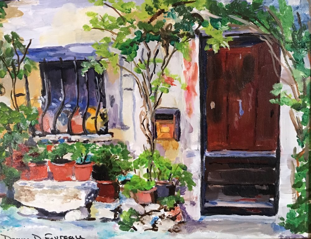 """Donna Favreau's """"St. Paul de Vence Cottage"""""""