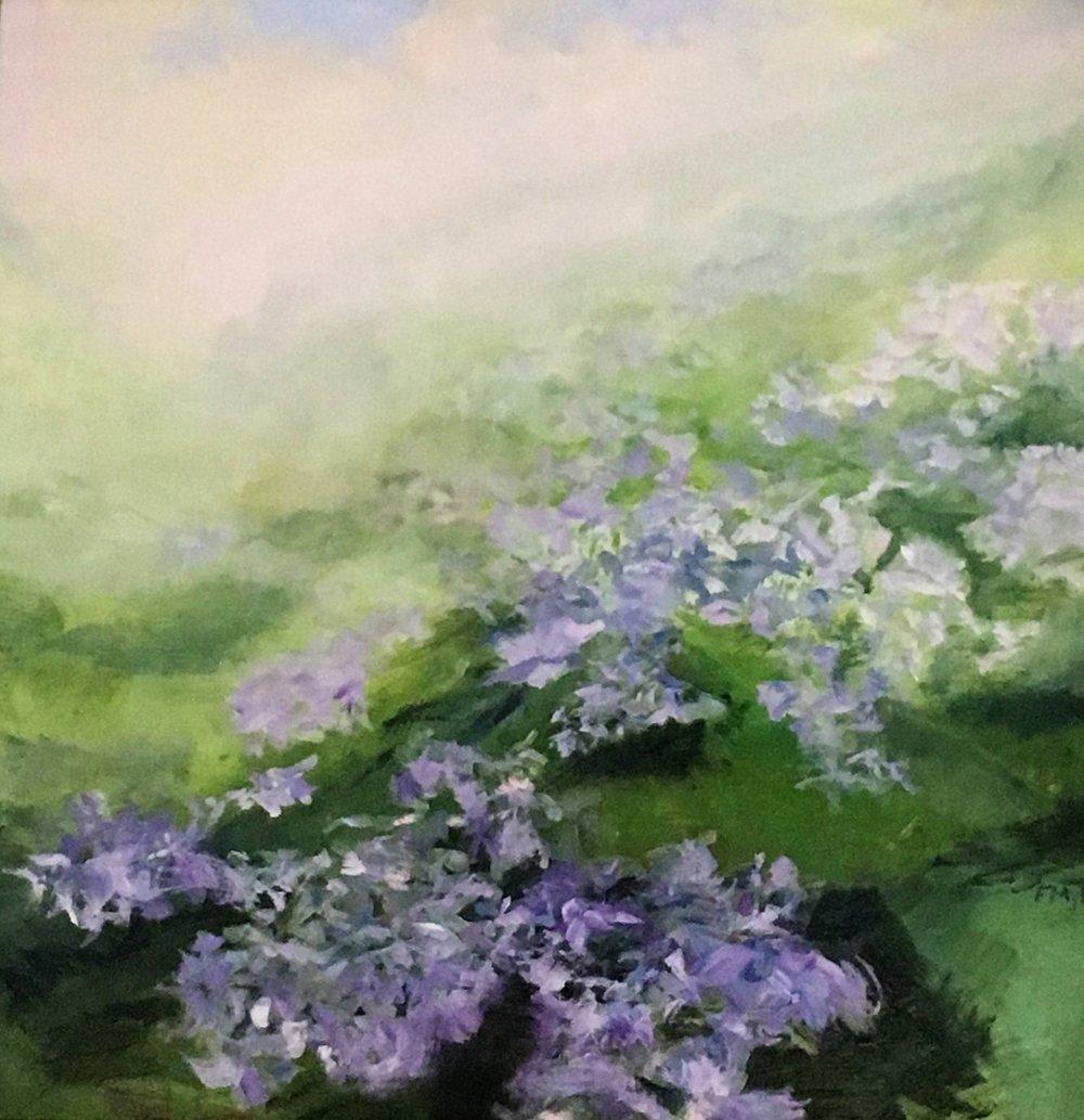 """Faye Mylen's """"Fields of Flowers"""""""